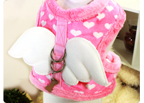 Soft Dog Harness- Pink Angel SnugFit Harness